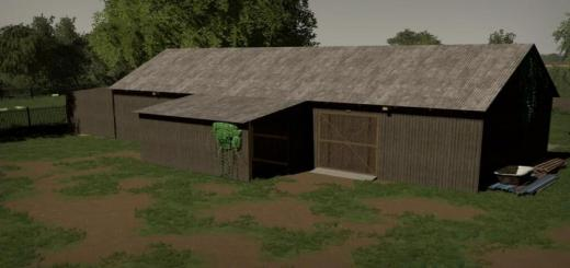 Photo of FS19 – Barn With A Workshop V1