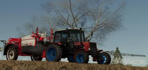 Photo of FS19 – Belarus 821 Red Tractor