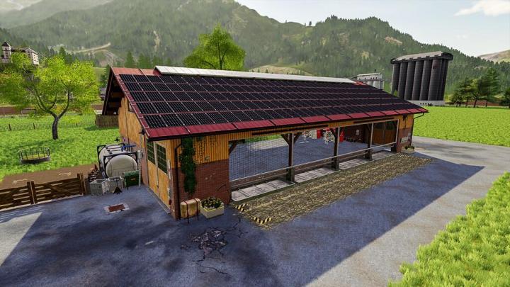 FS19 - Big Cow Barn V1