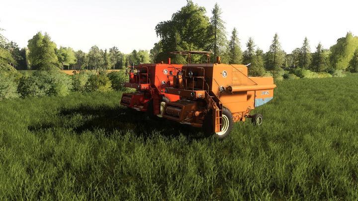FS19 - Bizon Z056 Harvester V1