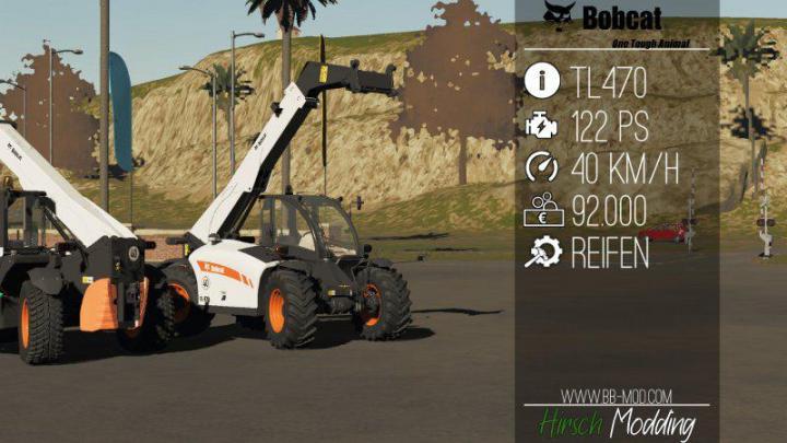 FS19 - Bobcat Tl470 Hf V1
