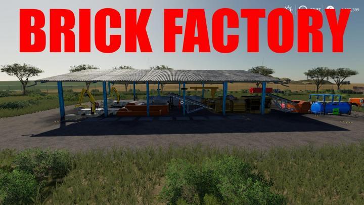 FS19 - Brick Factory V1