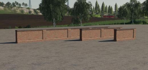 Photo of FS19 – Brick Wall V1