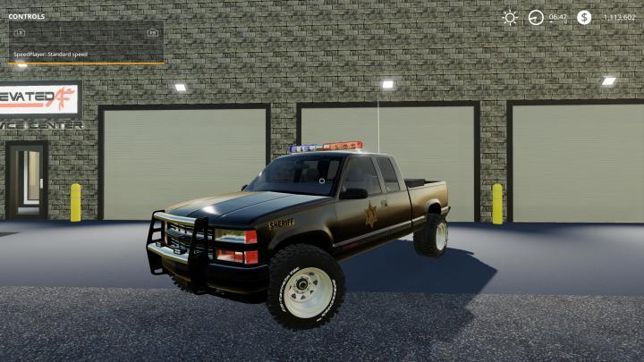 FS19 - Chevy 1500 Police V1