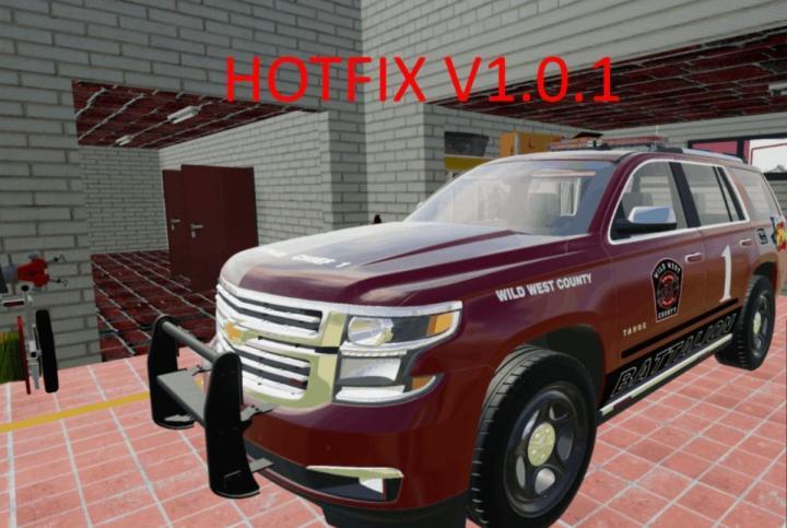 FS19 - Chevy Tahoe Battalion 1 Chief V1.01
