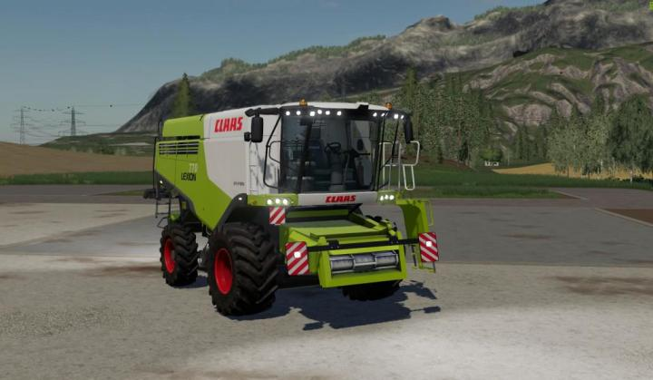 FS19 - Claas Lexion 770 Combine V2