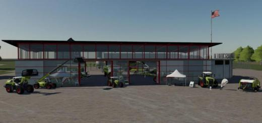 Photo of FS19 – Claas Shop And Advertising Objects V1