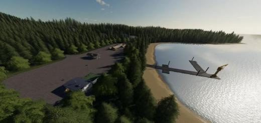 Photo of FS19 – Crater Lake Map V1