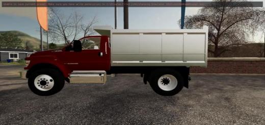 Photo of FS19 – F750 Dump Truck V1