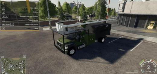 Photo of FS19 – F750 Tree Truck V1.0.0.1