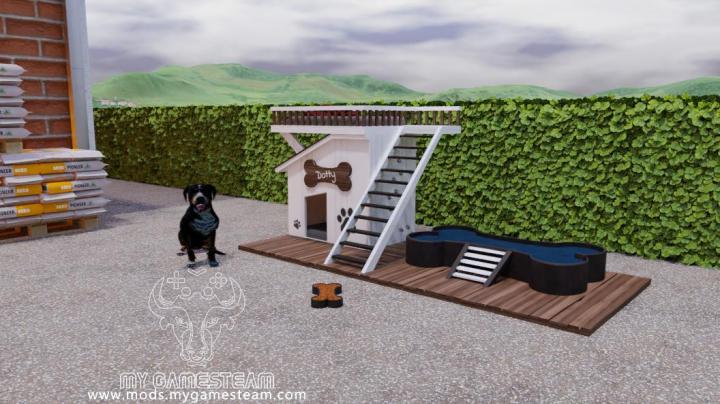 FS19 - Fancy Dog House V1