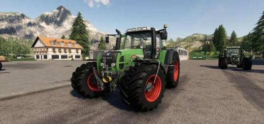 Photo of FS19 – Fendt 700/800 Tms With Tirepressure And Com 2 V4.2.0