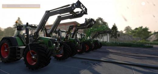 Photo of FS19 – Fendt 700/800 Tms With Tirepressure And More V4.1