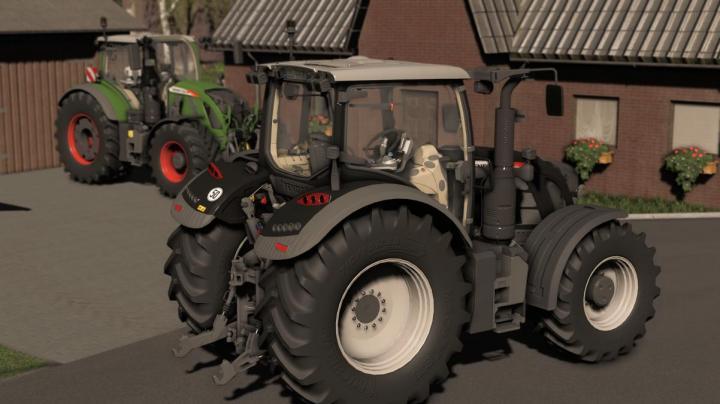 FS19 - Fendt Vario 700 S4 Tractor V1