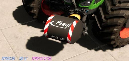 Photo of FS19 – Fliegl Gewichte Pack V1