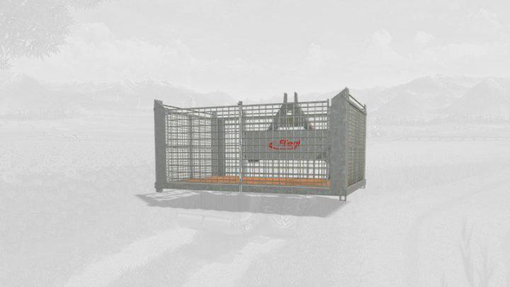 FS19 - Fliegl Transport Box V1.1