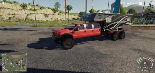 Photo of FS19 – Ford F550 6X6 Camping V1