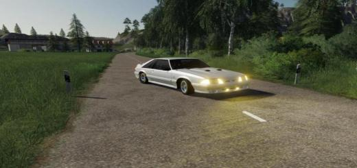 Photo of FS19 – Ford Mustang 1987 V1