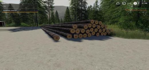 Photo of FS19 – Full Length Spruce Logs