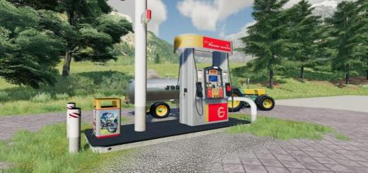 Photo of FS19 – Gas Station Mod V1