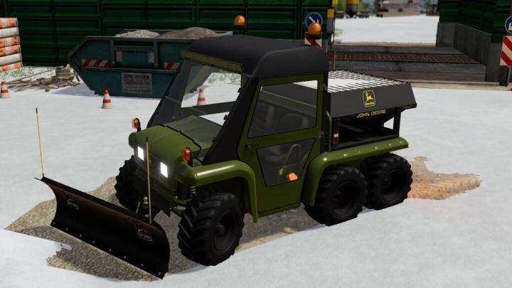 FS19 - Gator Snow Pack V1
