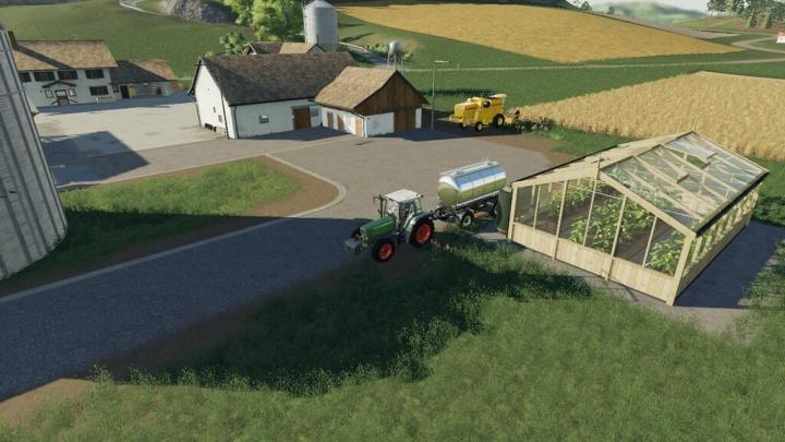 FS19 - Greenhouse Lemon V1