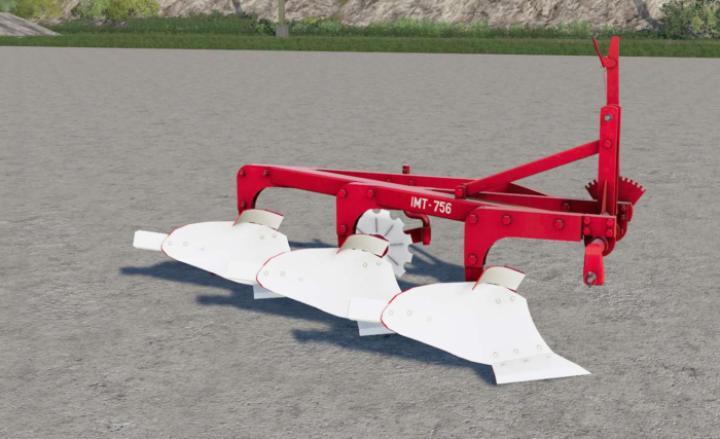 FS19 - Imt 756.30 Plough