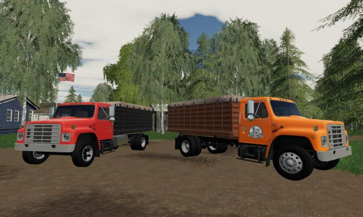 FS19 - International S1900 Grain Truck V1