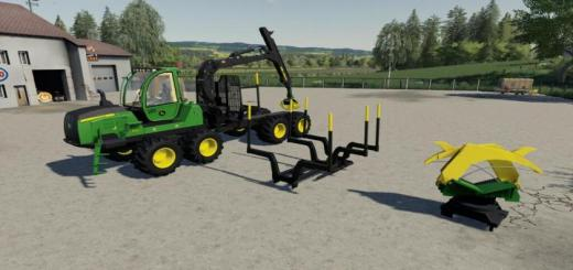 Photo of FS19 – John Deere 1110 1210 1510 G V1