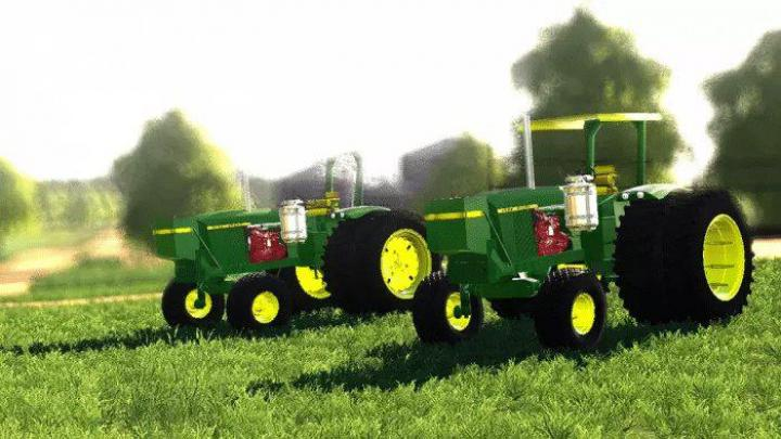 FS19 - John Deere 5020 And 5010 Kinze Repowers Beta