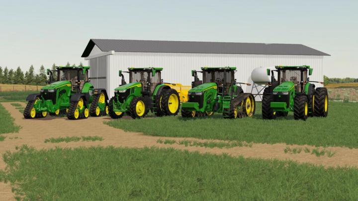 FS19 - John Deere 7R,8R,8Rt,8Rx 2020 Us Version V1.0.0.3