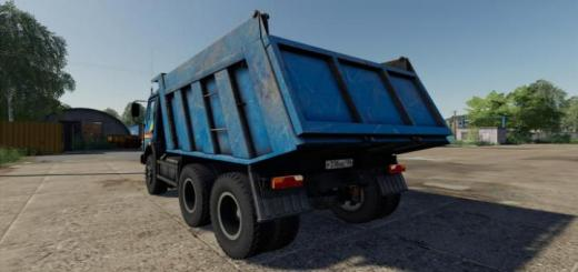 Photo of FS19 – Kamaz-65115 Blue V1.0.0.1