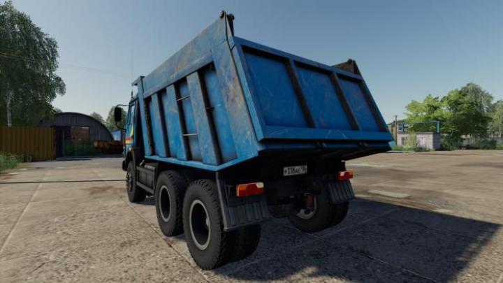 FS19 - Kamaz-65115 Blue V1.0.0.1