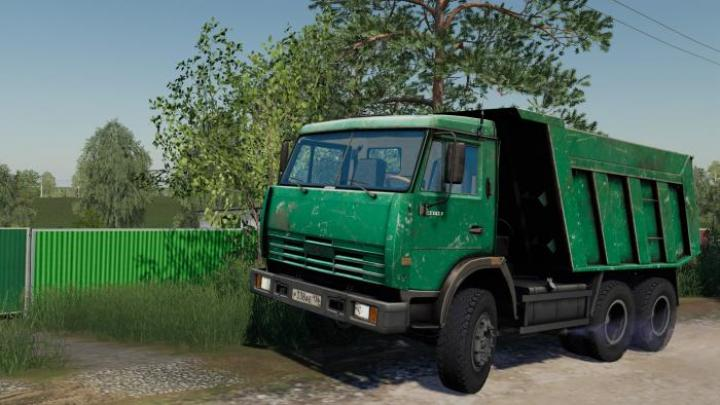 FS19 - Kamaz-65115 Green V1.0.0.1
