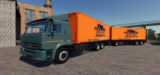 Photo of FS19 – Kamaz Pack V4.3