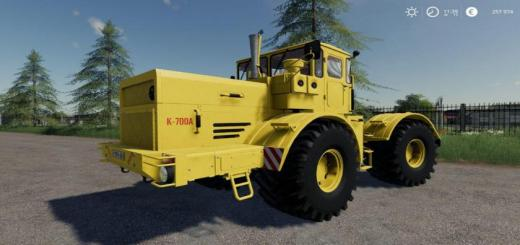 Photo of FS19 – Kirovets K-700A With Curtains V1.2