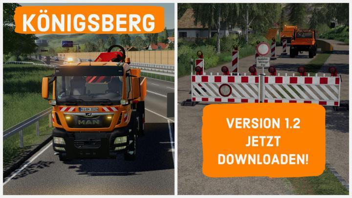 FS19 - Konigsberg Map V1.2