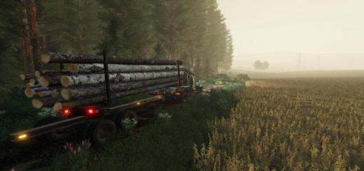 Photo of FS19 – Kraz-255B Timber Truck V1