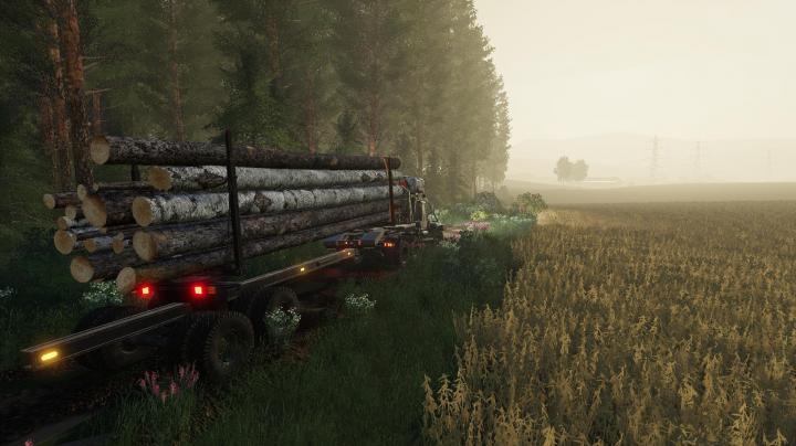 FS19 - Kraz-255B Timber Truck V1