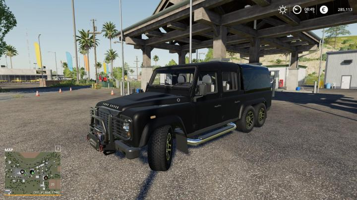 FS19 - Land Rover Defender 110 V1