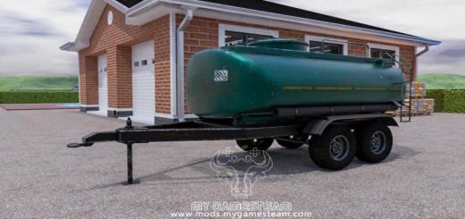 Photo of FS19 – Liquid Trailer Tank V1
