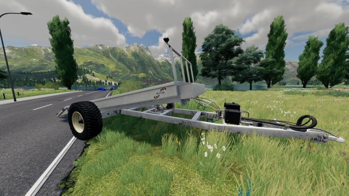 FS19 - Low Platform Trailer V1
