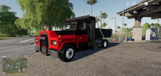Photo of FS19 – Mack R Dump Truck V1
