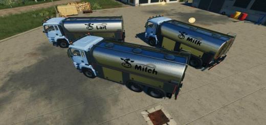 Photo of FS19 – Man Tgs Milk Truck V1