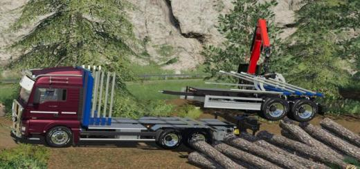 Photo of FS19 – Man Tgx Forest Special V1.0.0.1