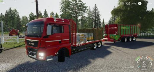 Photo of FS19 – Man Tgx26 Flat Bed