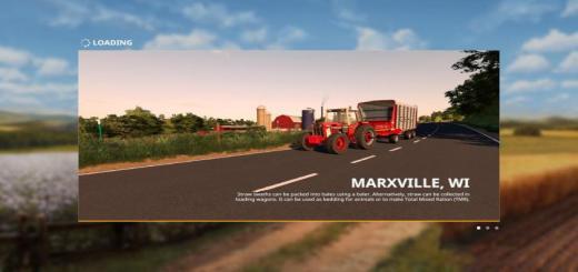 Photo of FS19 – Marxville Wisconsin Map V1