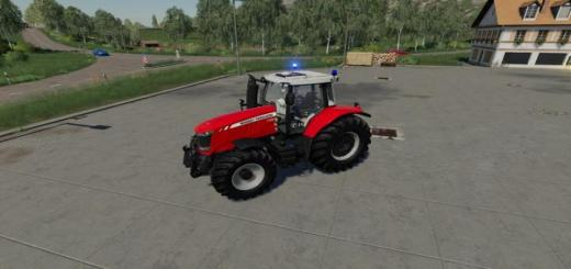 Photo of FS19 – Massey Ferguson 7700 – Fire Engine Tractor V1.2