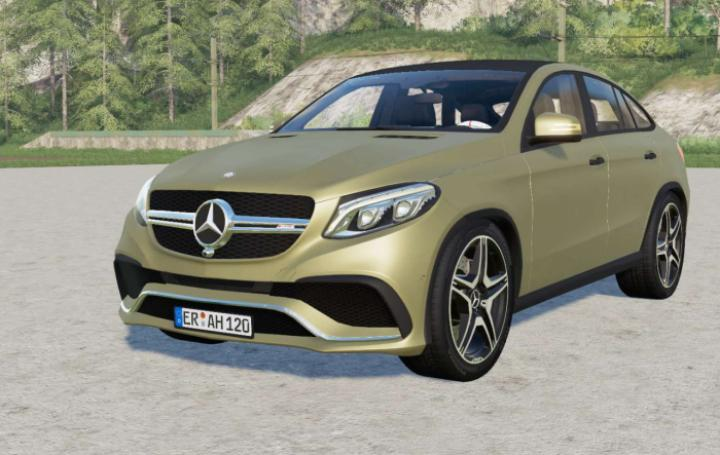 FS19 - Mercedes-Amg Gle 63 S Coupe (C292) 2015