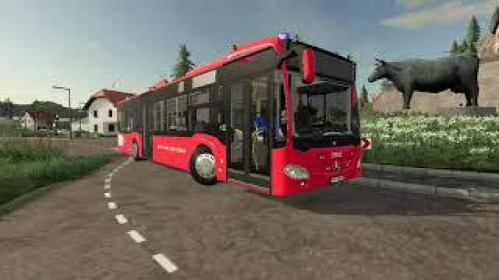FS19 - Mercedes-Benz Autobus Strazacki V2